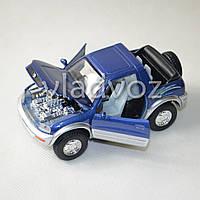 Машинка Toyota rav4 метал 1:36 синяя