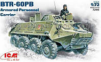 Сборная модель: BTR-60PB Soviet infantry vehicle