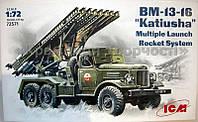 Сборная модель: BM-13-16 Soviet rocket volley system (Авто)