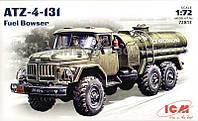 Сборная модель: Zil-131 Soviet fuel truck (Авто)