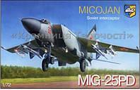 Сборная модель: MiG-25PD Soviet interceptor