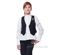 Жилет школьный Kids Couture 17-183 синий 134