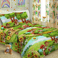 Детское постельное белье из поплина Петя Петушок