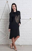 Молодежное женское платье в casual-стиле