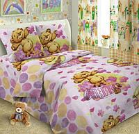 Детское постельное белье Мой мишка поплин
