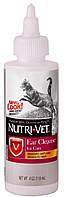 Nutri-Vet Ear Cleanse ушные капли для котов, 118 мл