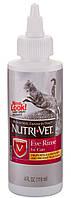 89416 Nutri-Vet Eye Cleanse Очні краплі для котів, 118 мл