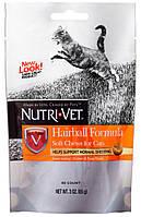 Nutri-Vet Hairball Комплекс для выведение шерсти котов, 85 гр