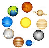 """Композиция стендов для школы """"Планеты солнечной системы"""""""