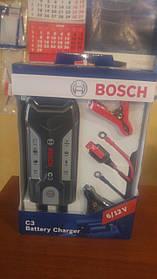 Мото зарядка аккумулятора  BOSCH С3 Емкость аккумулятора 6V:1,2Ah–14Ah / 12V:1,2Ah–120 Ah 018999903M