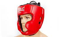 Шлем боксерский с полной защитой FLEX EVERLAST BO-5229-R