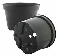 Горшки для растений оптом  d19,0 h17,0 v3,3 черный