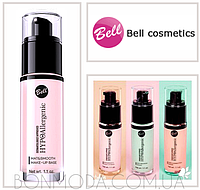 "База под макияж ""матирующая, бархатная"" гипоаллергенная ""Mat&Smooth"" Make-Up Base Bell"