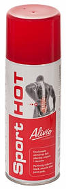 Разогревающий мышцы спрей Alivio 400ml UR AC-006 SPORT HOT