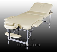 Трехсекционный алюминиевый массажный стол LEO