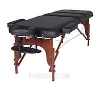 Трехсекционный массажный стол RAF (деревянный)