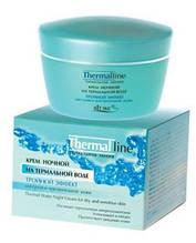 Нічний крем «Потрійний ефект» Thermal Line для сухої і чутливої шкіри (Biеlita, Білорусь) RBA /95-26