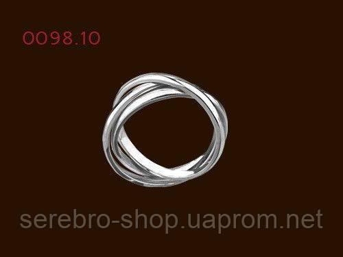 26b919ebc0ca Серебряное кольцо Тринити 0098  продажа, цена в Киевской области ...