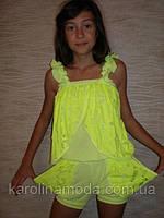 "Комбинизон ""Бабочка "" желтый . Детская одежда оптом. Коллекция лето 2013"