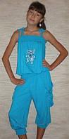 """Комбинезон капри """"Зайчик"""" 3001 (голубые). Детская одежда оптом. Коллекция лето 20132, фото 1"""