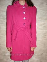 """Детская одежда оптом.   Пальто кашемировое  """"Волна"""" (малиновый)., фото 1"""