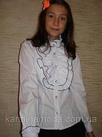 Блузка Жабо