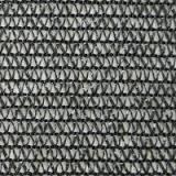 Сетка затеняющая 60% затенения черная 10м х 50м