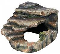 Декорация для террариума грот со ступеньками (Трикси) Trixie (19x17x17 см)