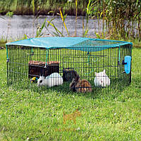 Вольер для кроликов 6 секций с сеткой Trixie