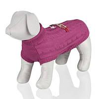 """Пуловер Trixie 67171 """"Garda"""" для собак фуксия, фото 1"""