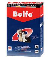 Bolfo Ошейник для котов и маленьких собак 35 см (Байер) Bayer