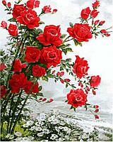 Картины по номерам 40×50 см Цветочное настроение Художника Сунг Ли