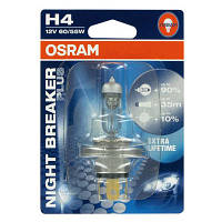 "Галогенка 12В ""Osram"" H4 55 Night Breaker +90%"