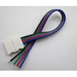 Коннектор для светодиодных лент OEM SC-08-SW-10-4 10mm RGB joint wire (провод-зажим), фото 2