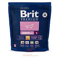 Premium Junior S для щенков и молодых собак малых пород (Брит) Brit (3 кг)
