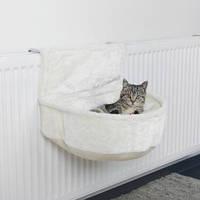 Trixie гамак для кота подвесной на радиатор, плюш,регулируемый 45 × 13 × 33 см TX-43140