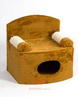 "Домик-дряпка для кошек ""Диван-дом"" (Природа) Природа (жаккард)"