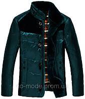 Куртка мужская JEEP с мехом, темно-зеленая