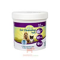 Салфетки гигиенические для ушей собак и кошек (90шт) (8в1) 8in1