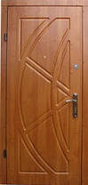 Двері броньовані з МДФ накладками, фото 2