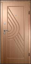 Двері броньовані з МДФ накладками, фото 3