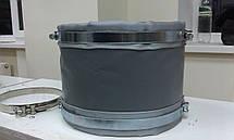 Тканевый компенсатор тип КТ 1,01 ленточный без волны, фото 2