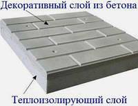 Фасадные термопанели (5см. пенопласта) кирпич гладкий для утепления и отделки стен