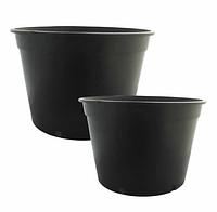 Круглый горшок для рассады (технический,пластик)  d30,0 h26,5 v15,0