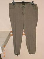 Брюки-стретч серые батальные  со штрипками  Bodyflirt, фото 1