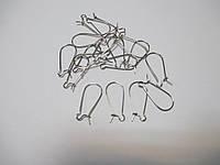 Швензи Петля нікель 25мм 10 пар (20 шт)