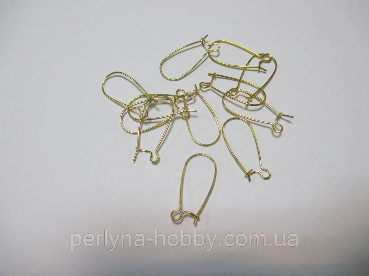 Швензи Петля золото 25мм 10 пар (20 шт)