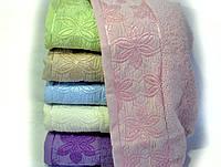 Полотенце махровое  лицевое 50*90  пр-во Турция