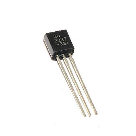 Транзистор 2N2222 TO-92 0.6A 30В , фото 2