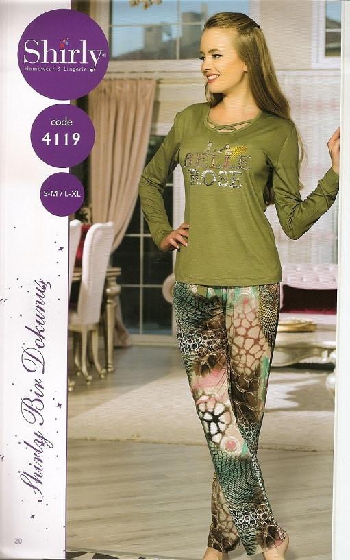 Трикотажна жіноча піжама-Туреччина